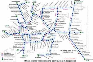 Схема маршрутов трамваев самара фото 898